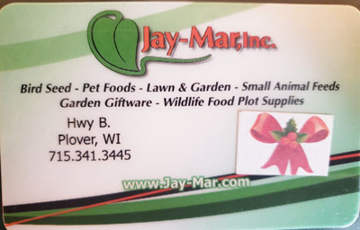 Jay-Mar Gift Card